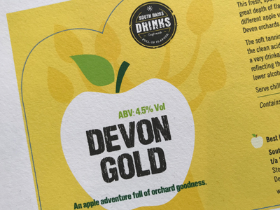 Cider Label Branding