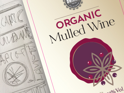 Mulled Wine Branding